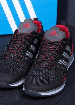 Мужские летние кроссовки Adidas Summer Red (40-45р)