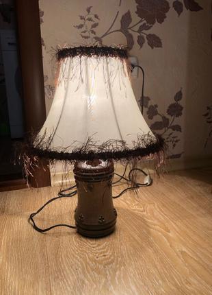Светильник настольная лампа ночник торшер