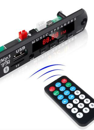 Встраиваемый MP3 плеер FM модуль USB microSD 5-12В