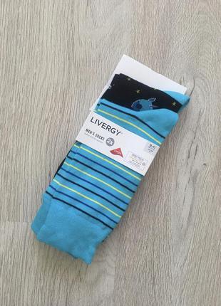 Классные мужские хлопковые носки livergy германия.