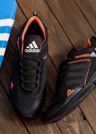 Мужские летние кроссовки сетка Adidas Terrex(40-45р)
