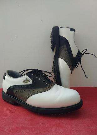 Удобные кроссовки из натуральной кожи footjoy, туфли для гольф...