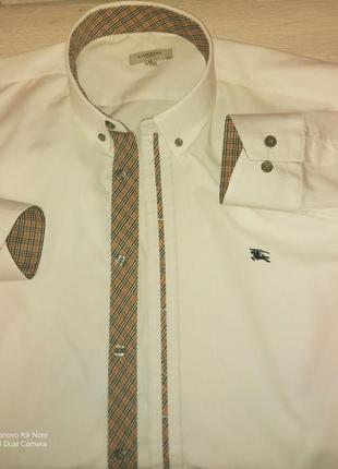 Рубашка мужская с длинным рукавом burberry