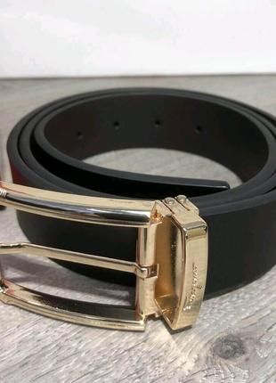 Ferragamo Belt Reversible And Adjustable Gold/Black