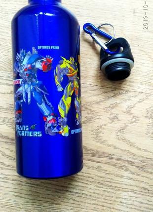 Бутылка для питья металлическая 500 мл