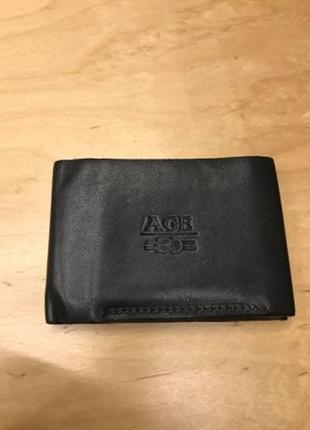 Кожаный кошелек AGE портмоне