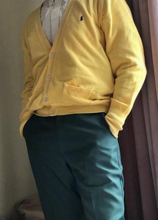 Жёлтый кардиган polo by ralph lauren 🟡🔥🔥🔥