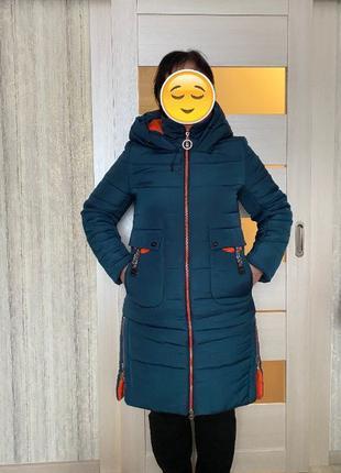 Куртка пальто женское больших размеров 52-54