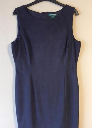 Замшевое платье ralph lauren