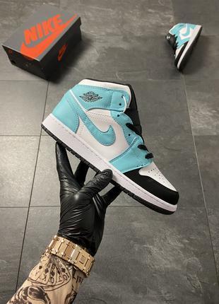 🔥 Air Jordan 1 Turquoise White.