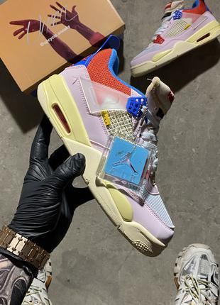 🔥 Union - Air Jordan 4 Retro SP Guava Ice.