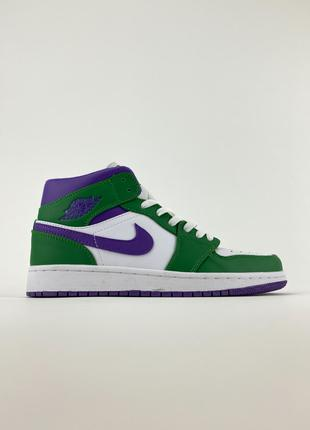 🔥 Air Jordan 1 Mid Incredible Hulk.
