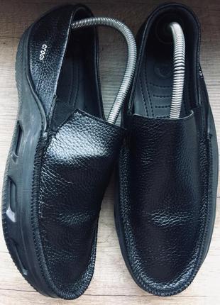 Мокасины crocs 43