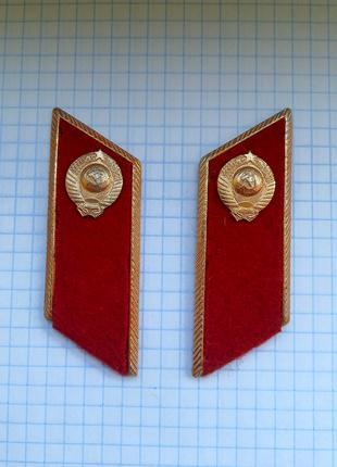 Петлицы на китель МВС СССР