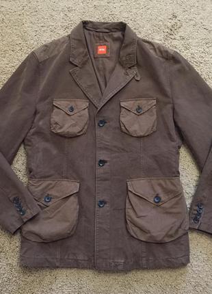 Мужская куртка пиджак hugo boss оригинал