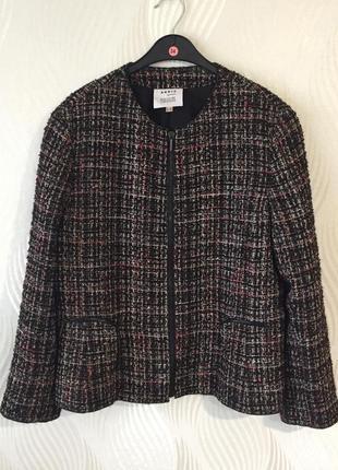 Твидовый жакет пиджак akris