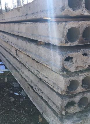 Плиты перекрытия 5900х1200