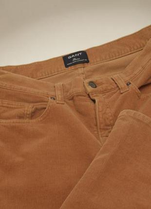 Gant dana рр 30 брюки вельвет из хлопка и лайкры
