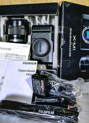 Fujifilm X-M1+16-50 II + Видоискатель Гарантия