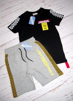 Костюм шорты + футболка 134,140 см качество люкс