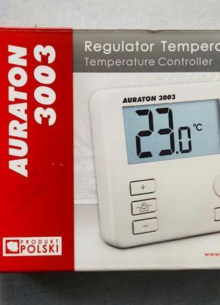 Программатор и терморегулятор комнатный для отопления AURATON