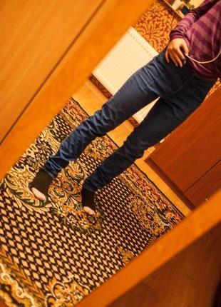 Штаны стильные на высокой талии h&m