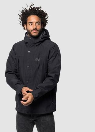 Куртка 3 в 1 west harbour jacket jack wolfskin