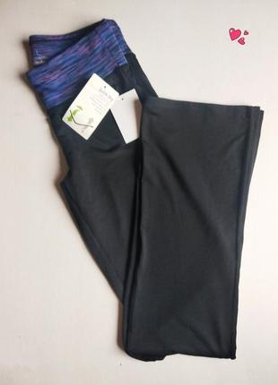 Ровные спортивные брюки c&a, одежда для фитнеса
