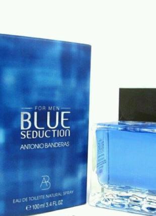 Мужская туалетная вода ANTONIO BANDERAS BLUE SEDUCTION 100 ml men