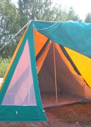 Палатка брда legionowo 4-х местная. польша