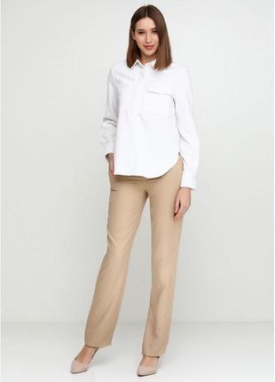 Прямые брюки бежевые оригинал
