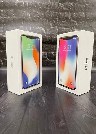 iPhone X 64 Gb  Space Gray/Silver