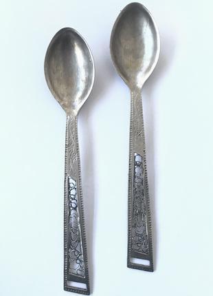 Столовое серебро ( чайные ложки ) 🥄