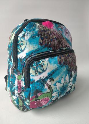 Красочный женский рюкзак