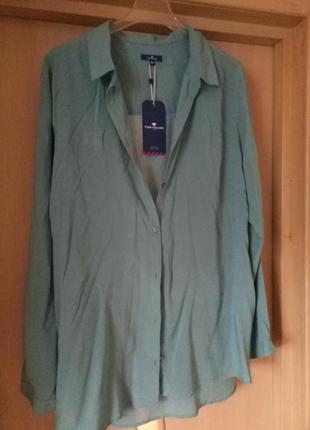 Блуза- рубашка tom tailor