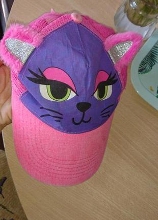 Крутая кепка котик 9-10 лет