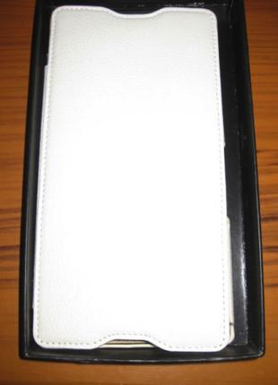 Чехол Vetti Craft Flip Sony Xperia Z Ultra Hori white