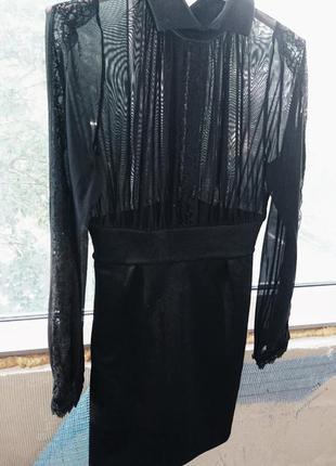 Роскошное платье футляр zara