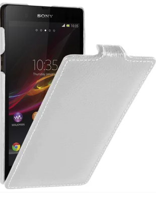 Чехол Vetti Craft Flip Sony Xperia Z Ultra Normal S white