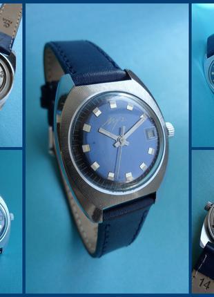 СССР 1974г., часы Луч «БОЧКА» с лучевым сечением корпуса механика