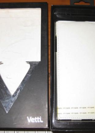 Чехол Vetti Craft Flip Lenovo K900 Normal Series white
