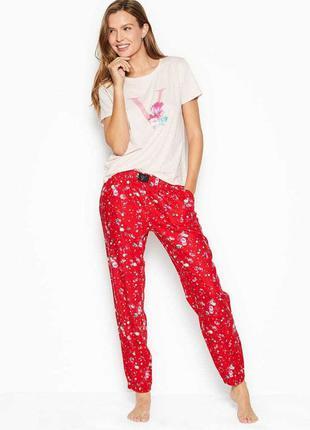 Длинная пижама из хлопка