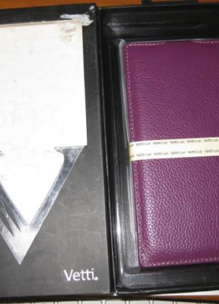 Чехол Vetti Craft Flip Lenovo K900 Normal Series Purple