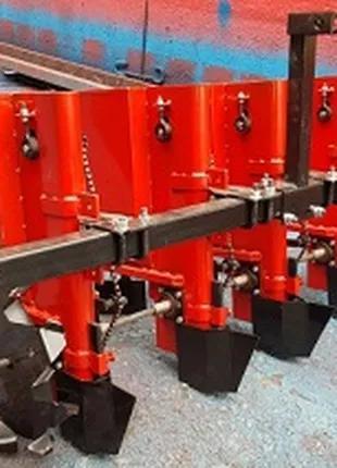 4 ряда cажалка чеснока чеснокосажалка мототрактор минитрактор