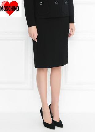 Базовая юбка-карандаш из коллекции moschino boutique, оригинал