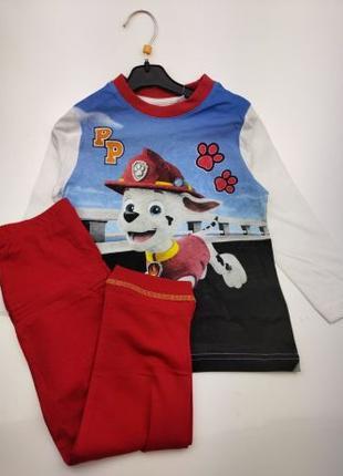 Дитяча піжамка Щенячий патруль пижама детская пижамка тачки