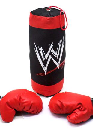 """Боксерский набор """"Sport Game"""", 42 см боксёрская груша"""