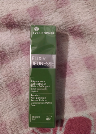 Yves Rocher Roll-on против колец и кулачка под глазами Elixir Jeu