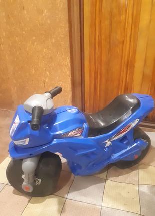 Мотоцикл каталка для детей 2-х колёсный, детский