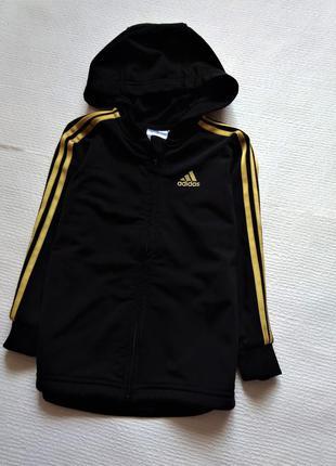 Adidas оригинальная кофта 3 год
